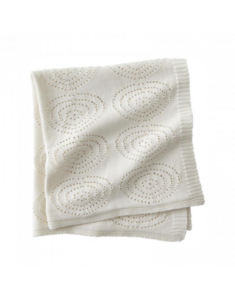 KIDS CONCEPT Cream Cotton Blanket