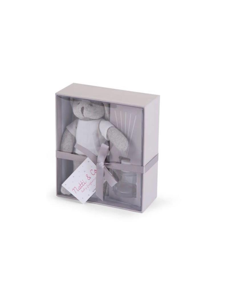 Grey Bunny Gift box