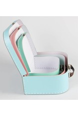 Set of 3 Pastel Suitcases
