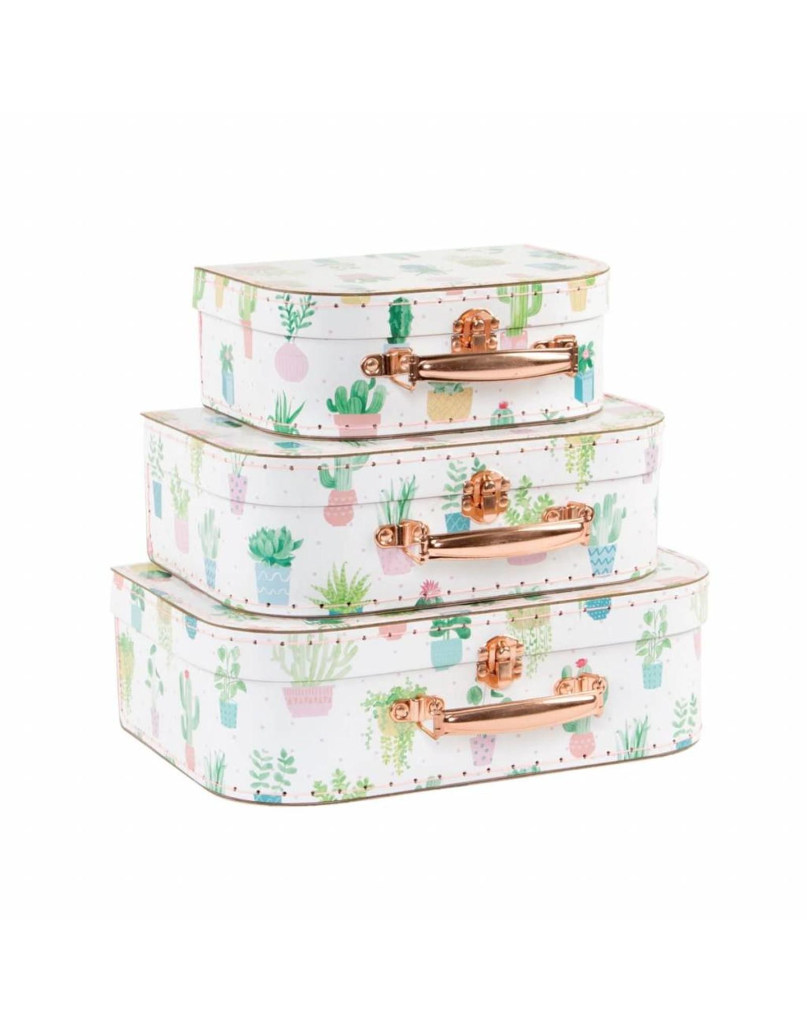SASS & BELLE Cactus Suitcases