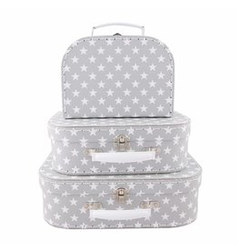 Set of 3 Nordic Star Suitcases