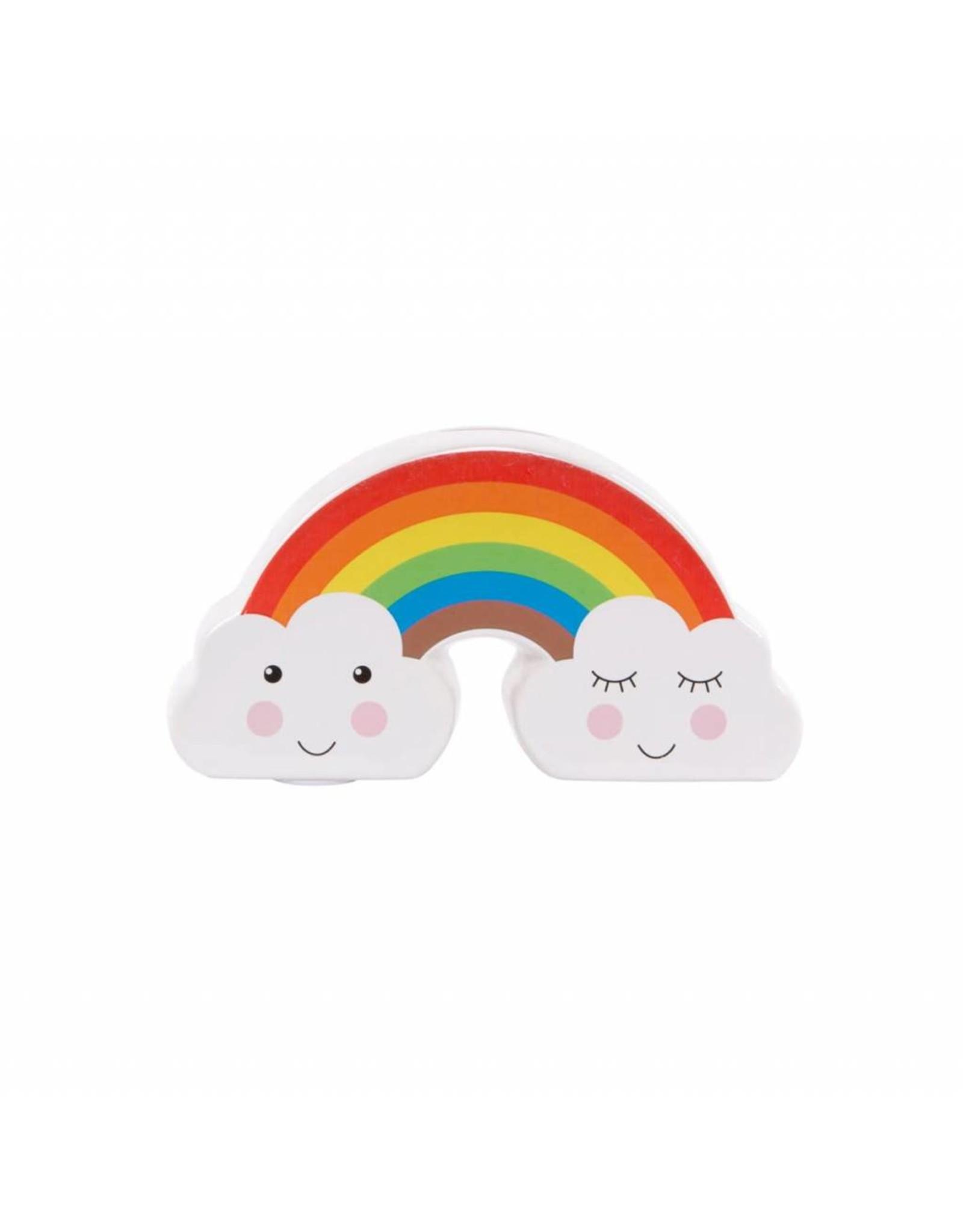 SASS & BELLE Rainbow Money Box