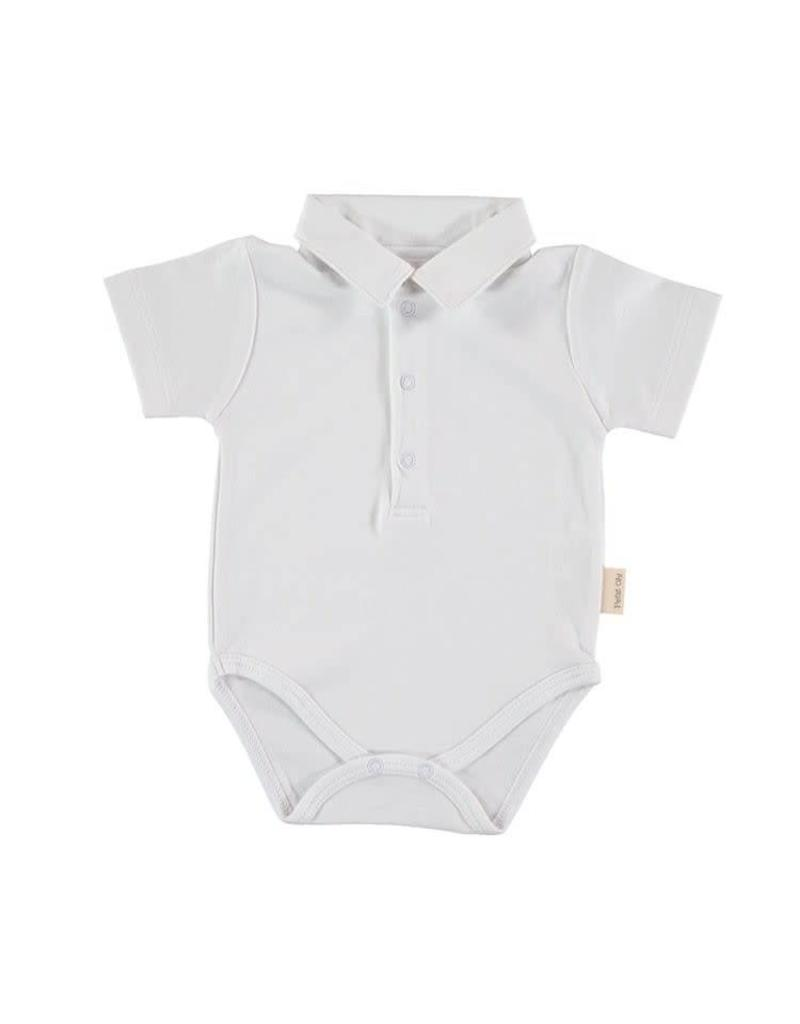 Short Sleeve Polo Bodysuit