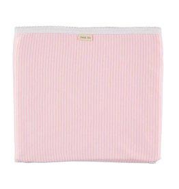 Cotton Blanket - Pink Stripe