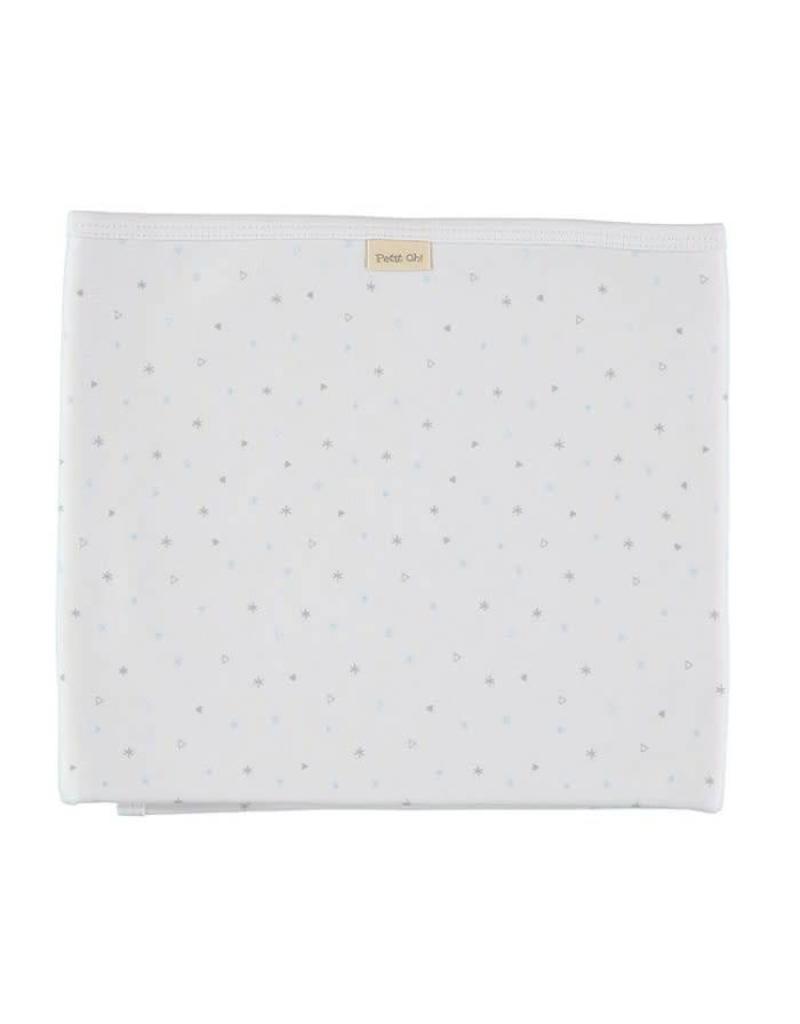 Cotton Blanket - Blue Stars