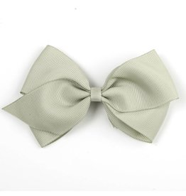 Large Olive Gray Hair Clip