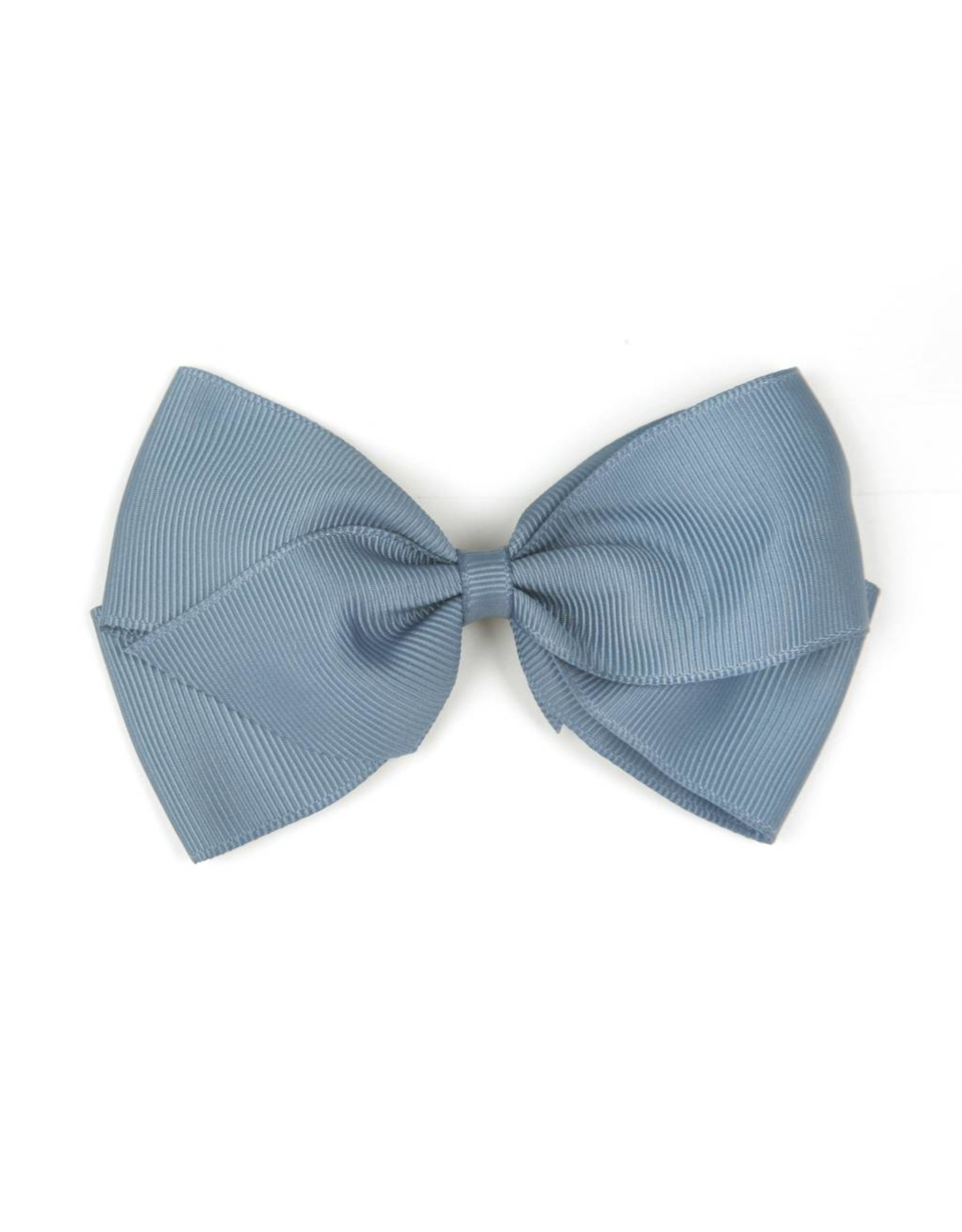 Large French Blue Hair Clip