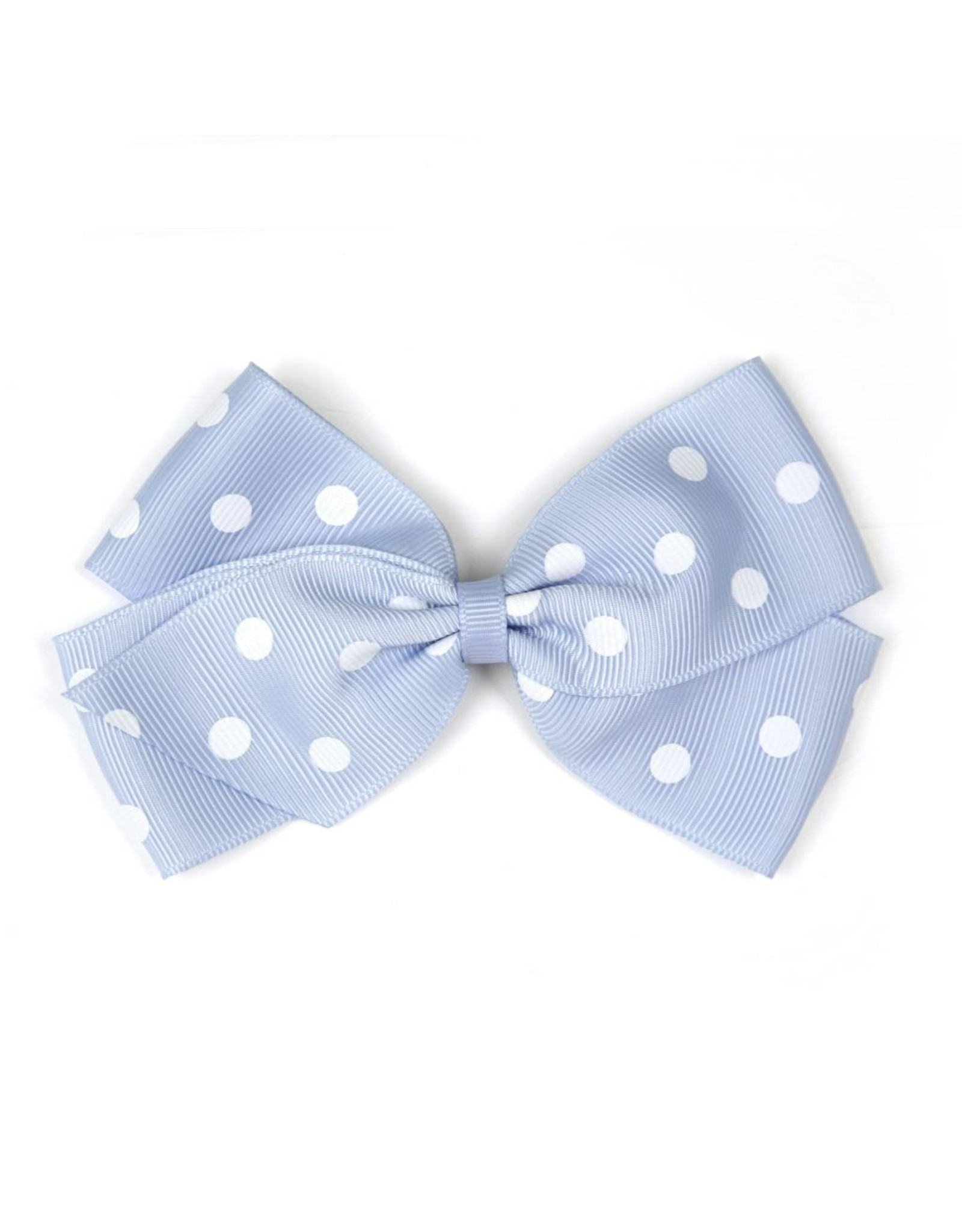 Large Bluebell Polka Dot Hair Clip