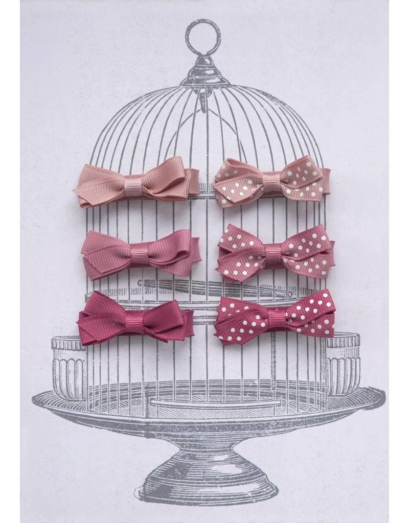 Small Clip Gift Set Pinks & Dots