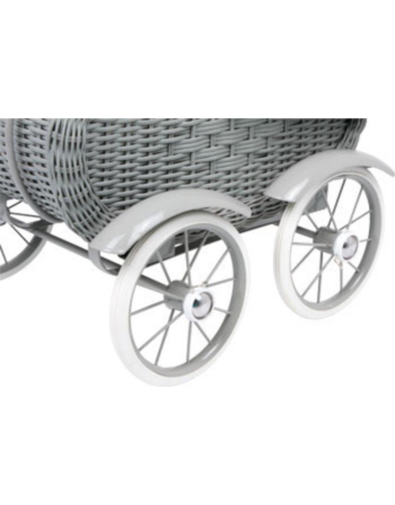 Doll's Pram Vintage Grey