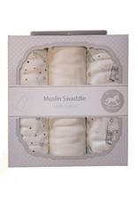 Muslin Swaddle Cloths - Stars