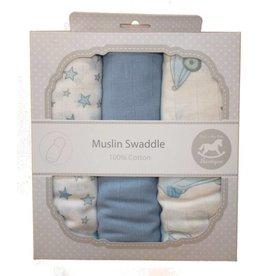 Muslin Swaddle Cloths - Cars