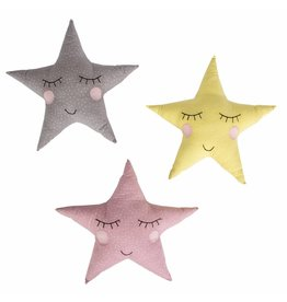 Polka Dot Pastel Star Cushion