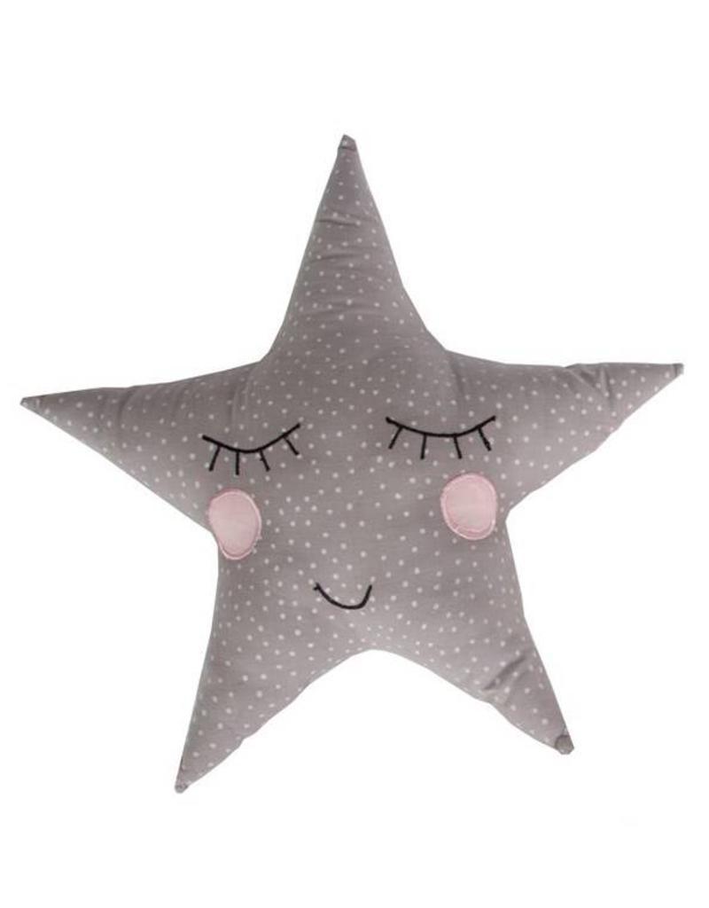 Polka Dot Pastel Star Cushion