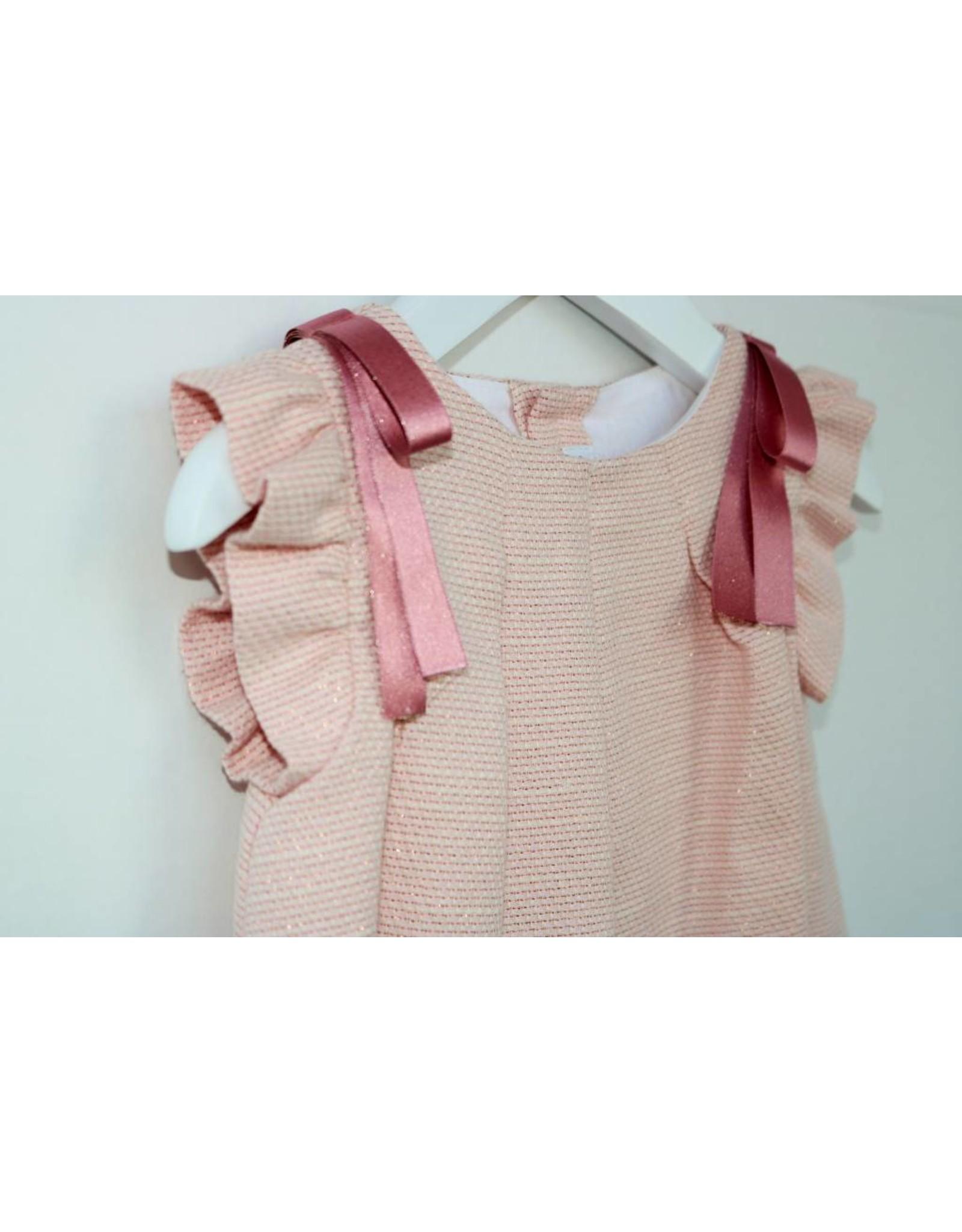FINA EJERIQUE Pink Textured Dress