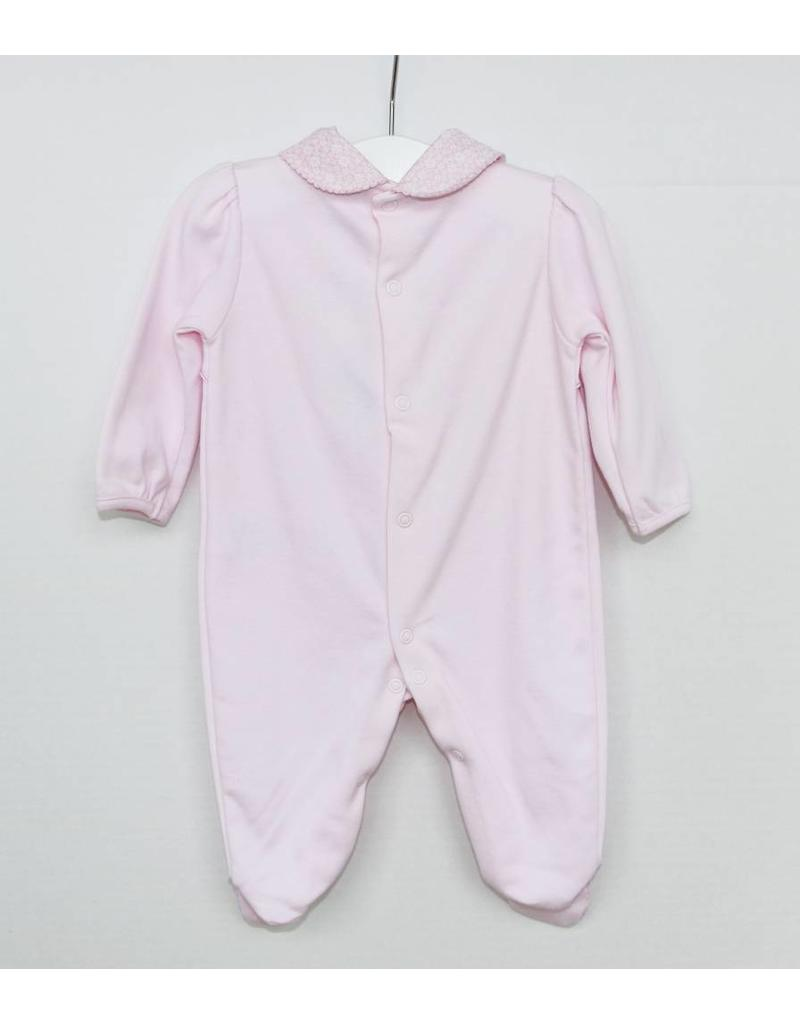 Pink Scalloped Sleeper
