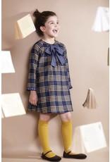 FINA EJERIQUE Girls Blue Check Dress