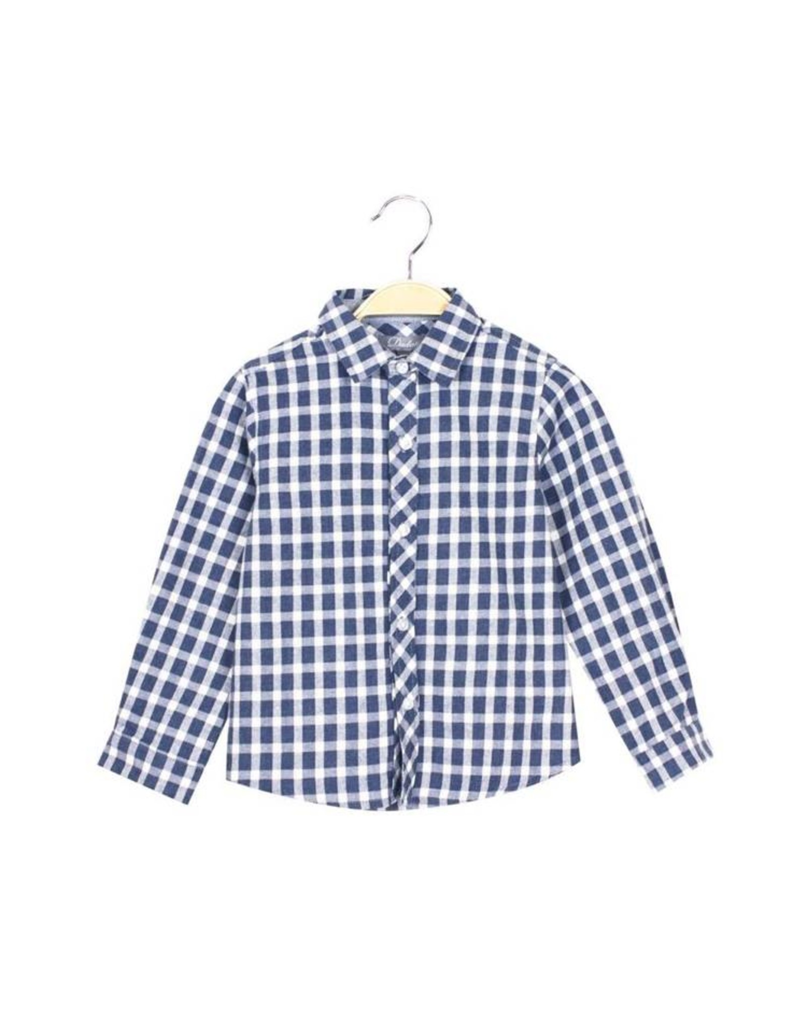 DADATI Blue Gingham Shirt