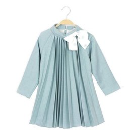 DADATI Pleated Mint Dress