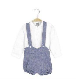 DADATI Shirt & Braced Shorts Set