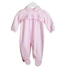Pink Scalloped Sleeper