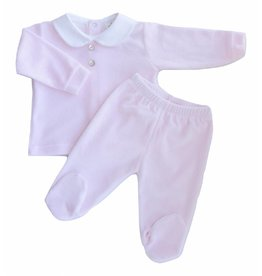 MINHON Pink Velour Set