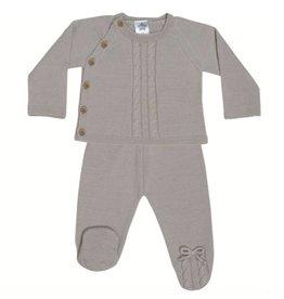 MINHON Knitted Set - NATURAL