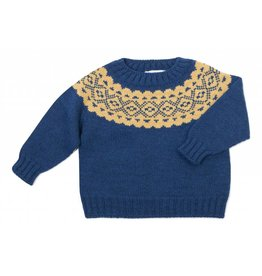 FINA EJERIQUE Boys Navy Sweater