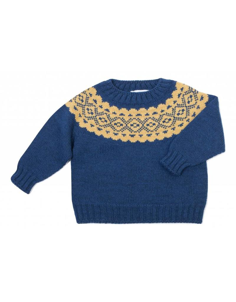 FINA EJERIQUE Boys Navy Sweater
