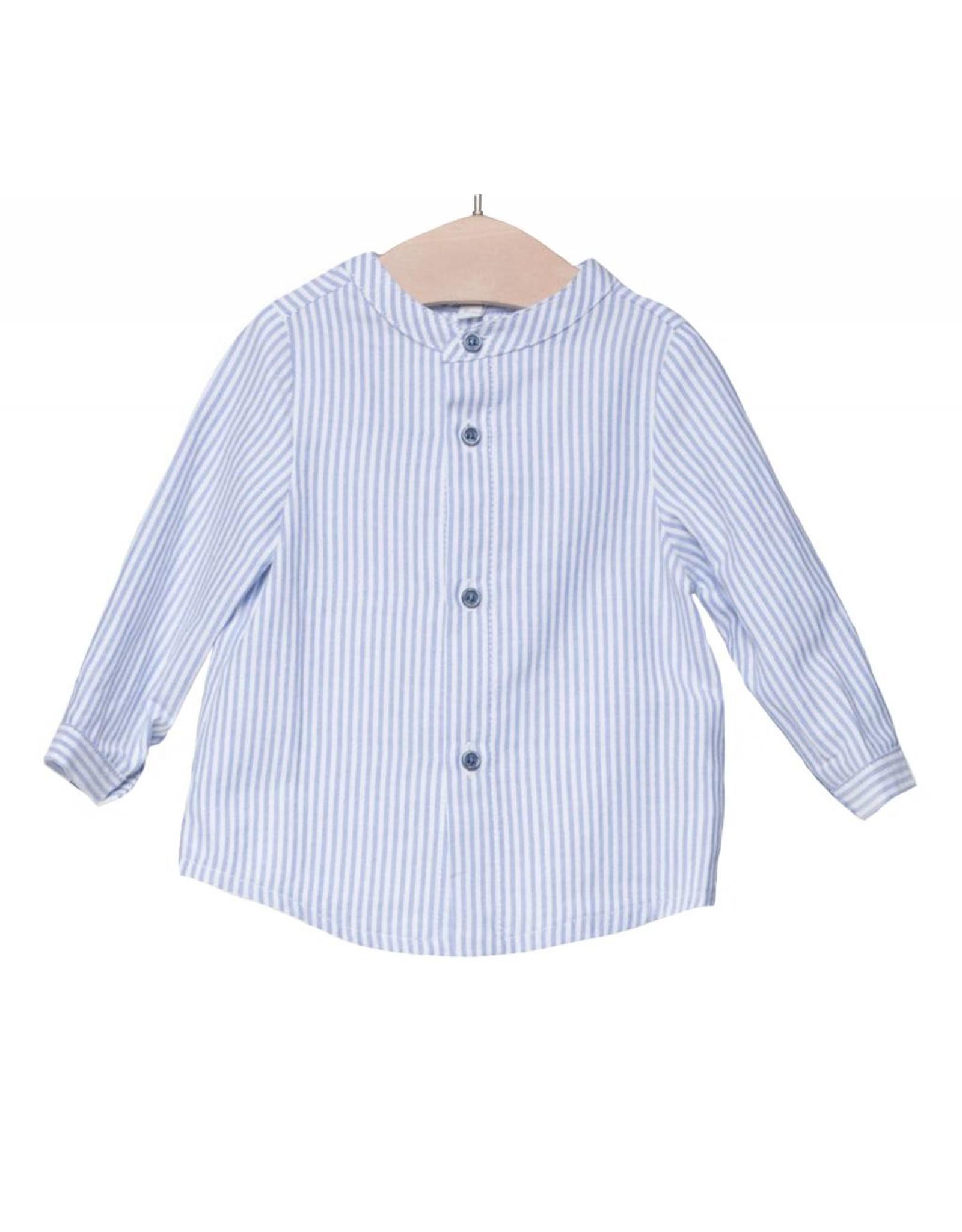 FINA EJERIQUE Blue Striped Shirt