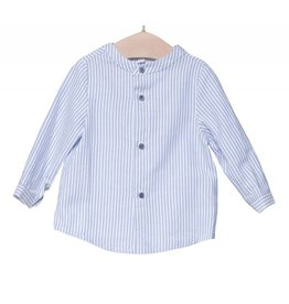 FINA EJERIQUE Blue Striped Shirt