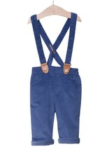 FINA EJERIQUE Navy Trousers with Braces