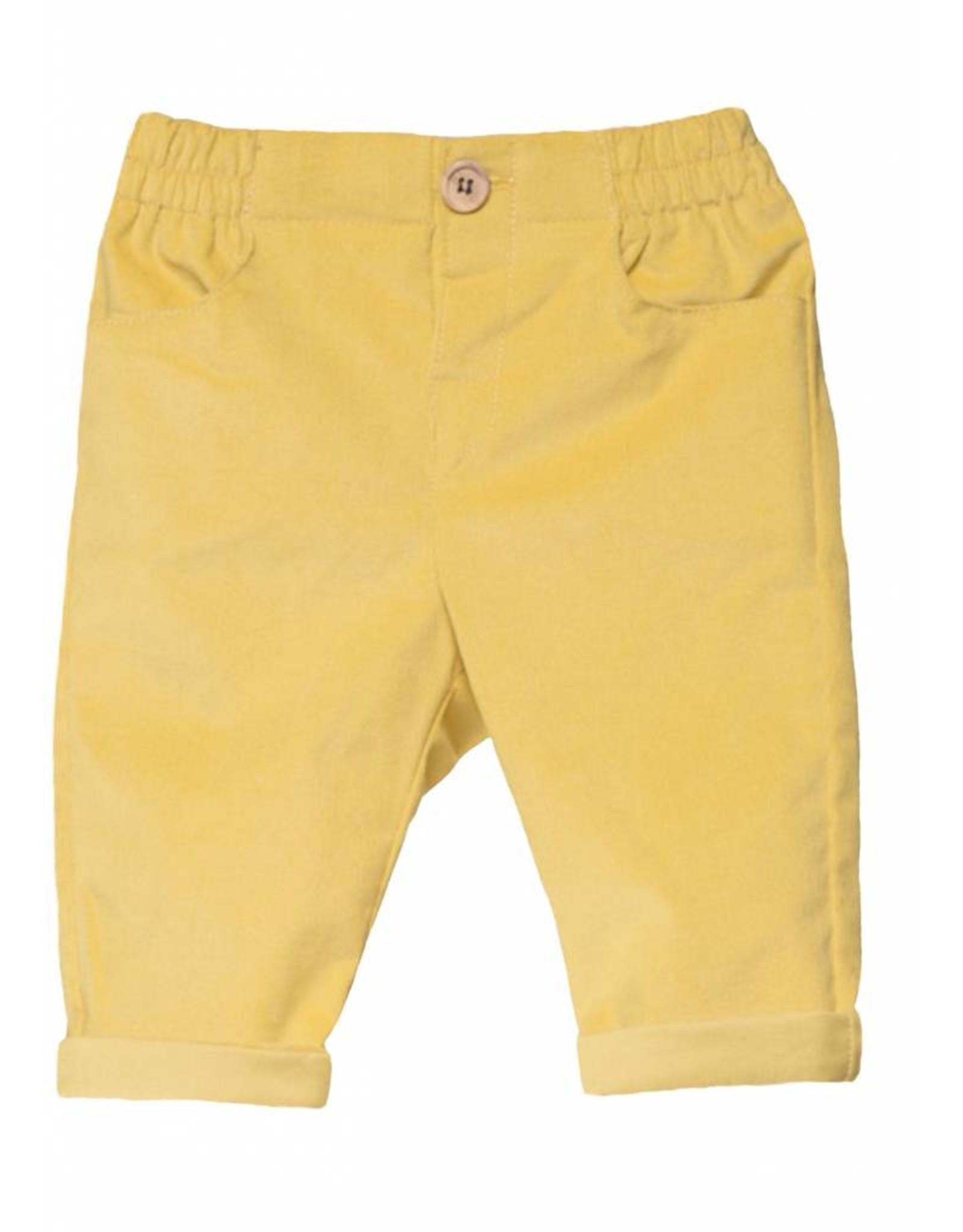 FINA EJERIQUE Mustard Trousers