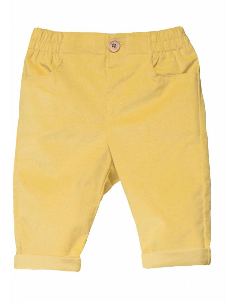 FINA EJERIQUE Mustard Trousers