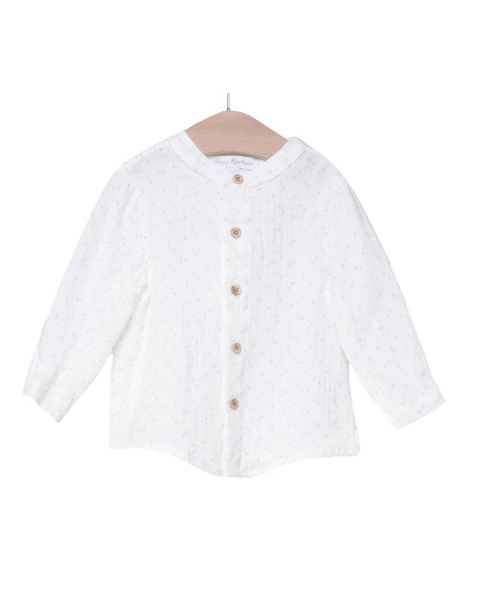 FINA EJERIQUE White Long Sleeve Shirt