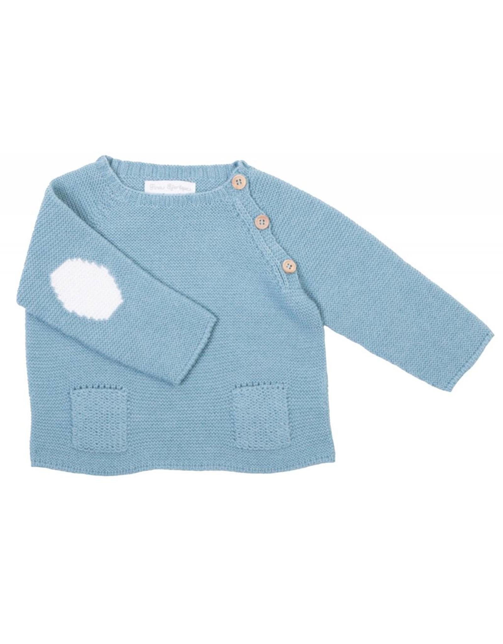 FINA EJERIQUE Teal Sweater
