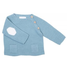 FINA EJERIQUE Boys Teal Sweater