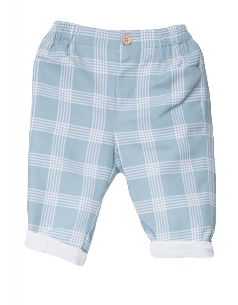 FINA EJERIQUE Boys Check Trousers