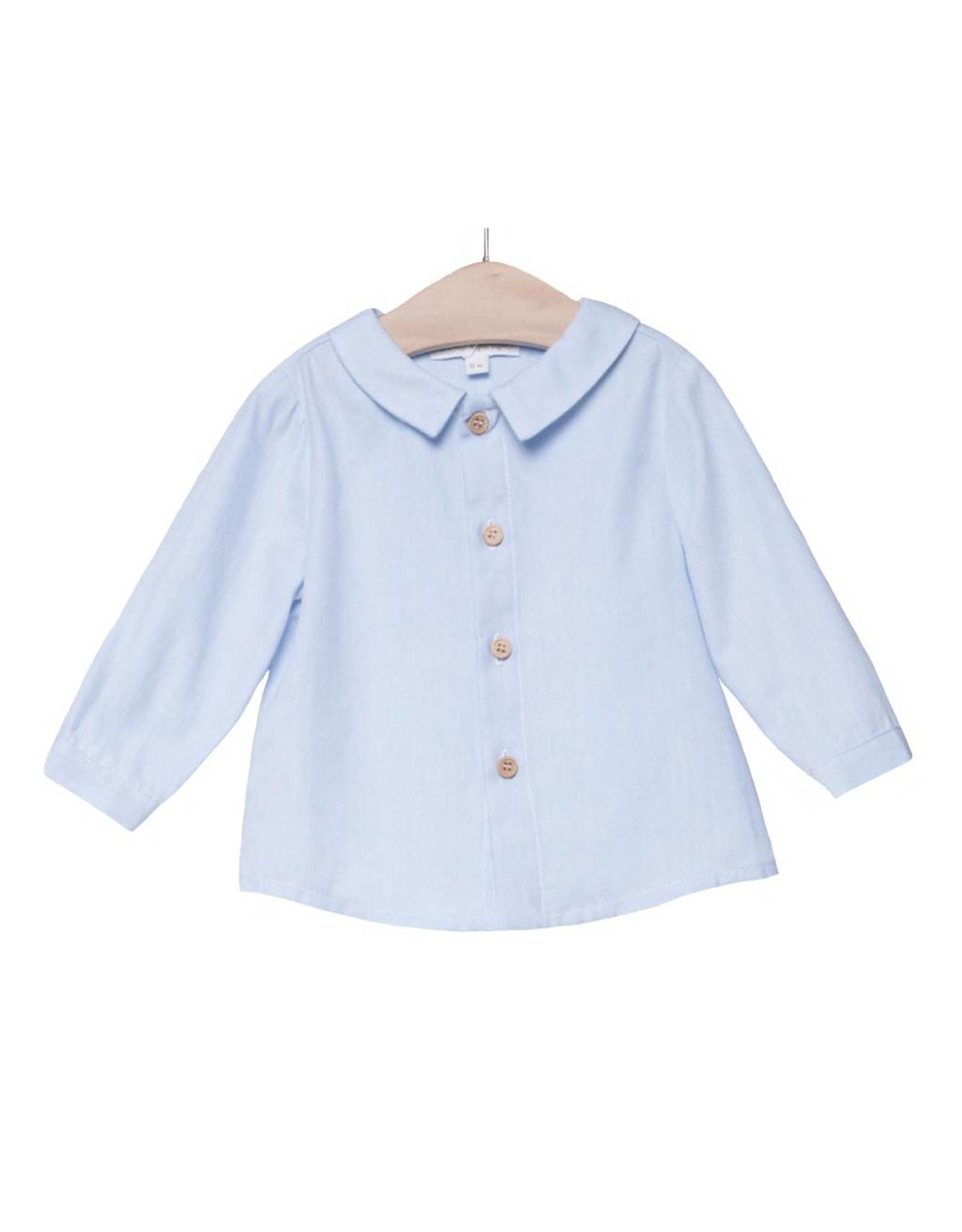 FINA EJERIQUE Pale Blue Shirt