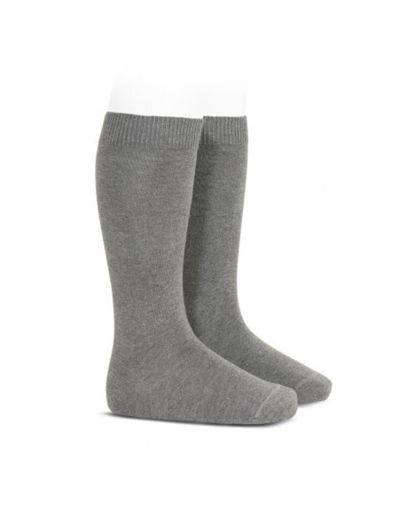 CONDOR Light Grey Knee High Socks