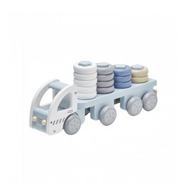 Stacking Ring Truck Blue