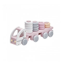 Stacking Ring Truck Pink