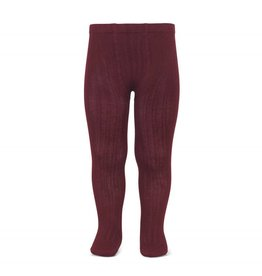 CONDOR Garnet Ribbed Tights