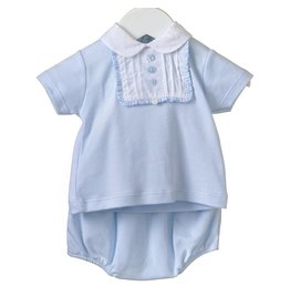 Baby Blue Cotton Set