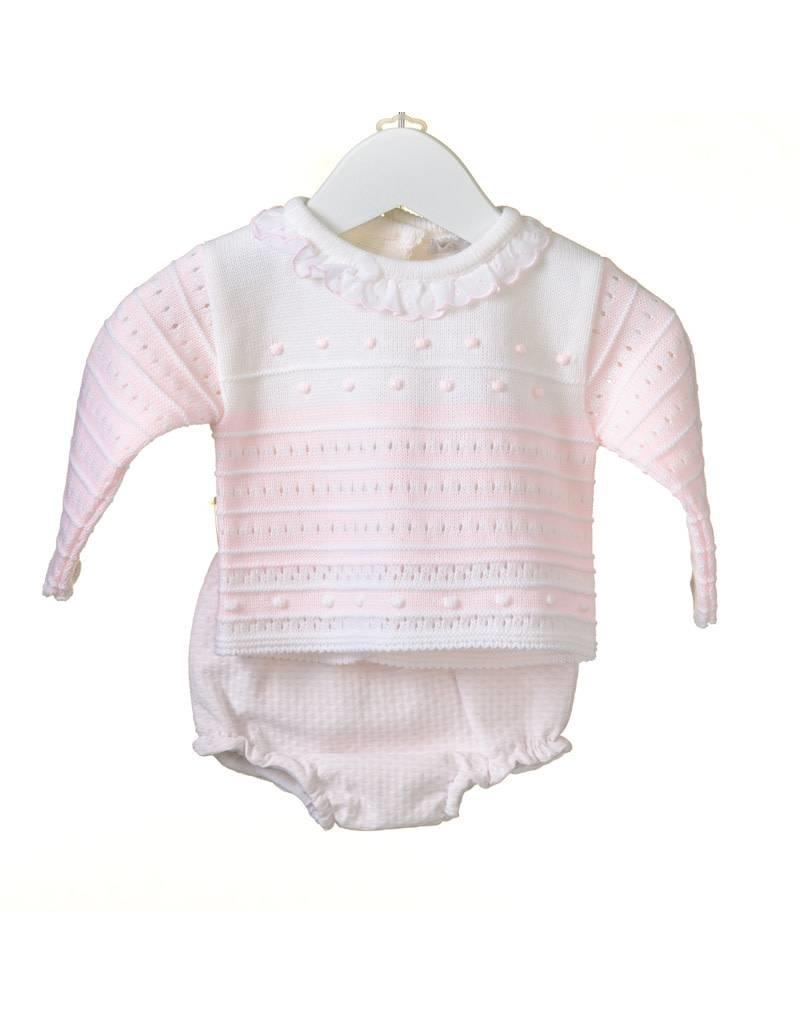 d1c1a275a3 Baby Pink   White Outfit - Devoted Touch