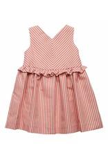 FINA EJERIQUE Red Stripe Dress
