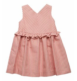 FINA EJERIQUE Red Stripe Dress