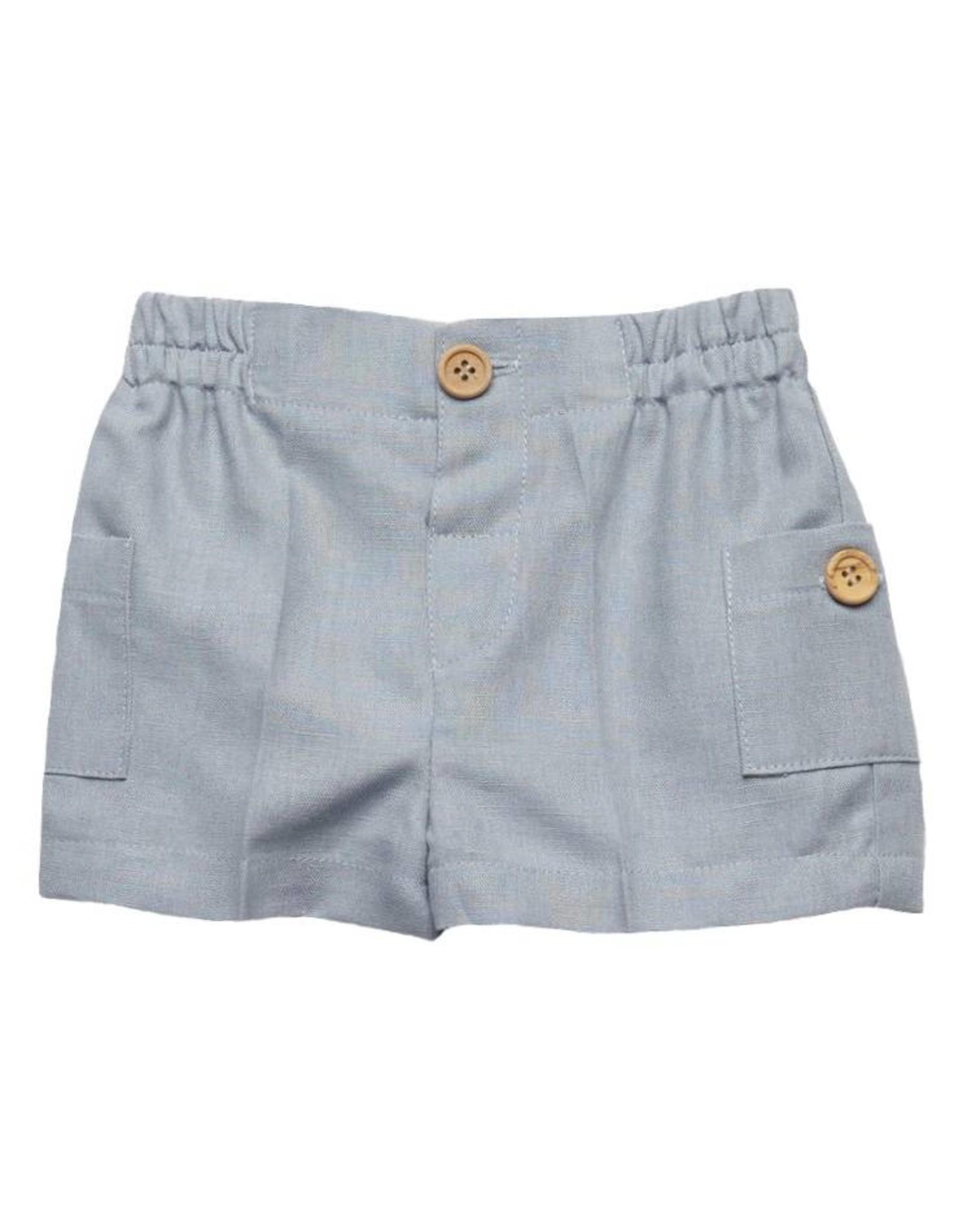 FINA EJERIQUE Dusty Blue Shorts