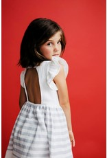 FINA EJERIQUE White & Grey Dress