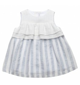FINA EJERIQUE Grey Stripe Dress